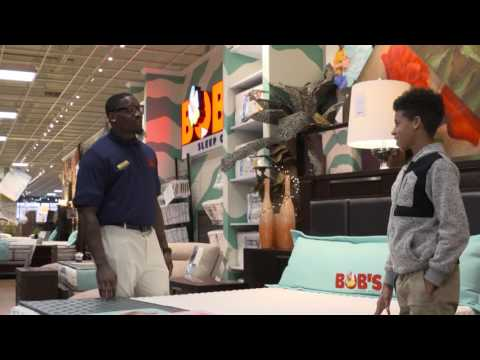 Arthur Moats Goes Undercover at Bob's Discount Furniture