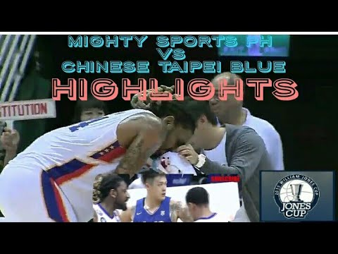 Mighty Sports Vs Chinese Taipei A (ROC) Highlights | Jones Cup July 20 2019 | 41st Jones Cup
