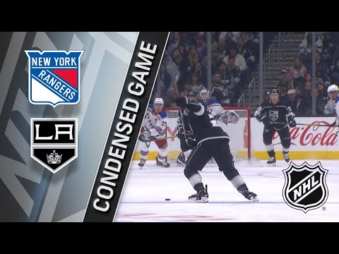 01/21/18 Condensed Game: Rangers @ Kings