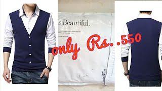 Unboxing||unboxing tshirt hoodie for men in flipkart||jacket/hoodie review