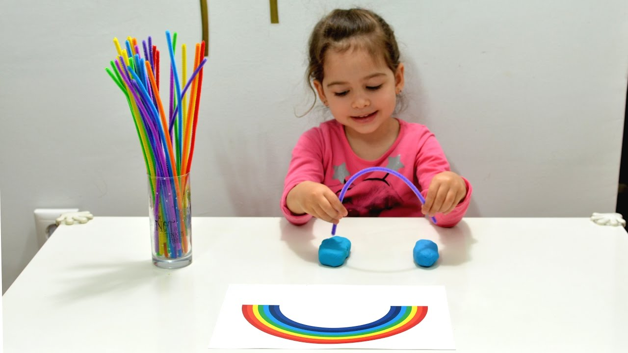 Learn Colors fun rainbow montessori activities kids play games ...