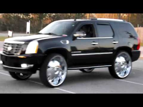 Escalade On 32 Inch Dubs Youtube