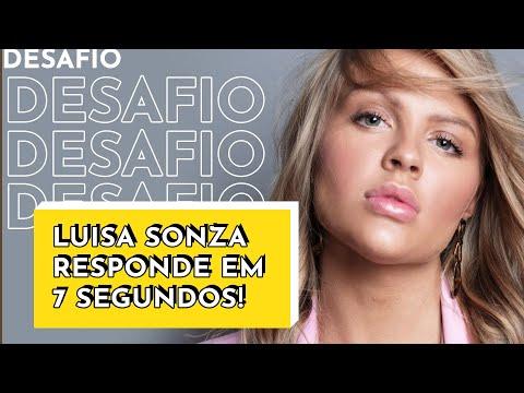 Luisa Sonza responde perguntas em 7 segundos