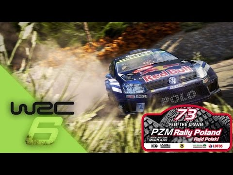 wrc 6 world rally championchip rally poland ps4 logitech. Black Bedroom Furniture Sets. Home Design Ideas