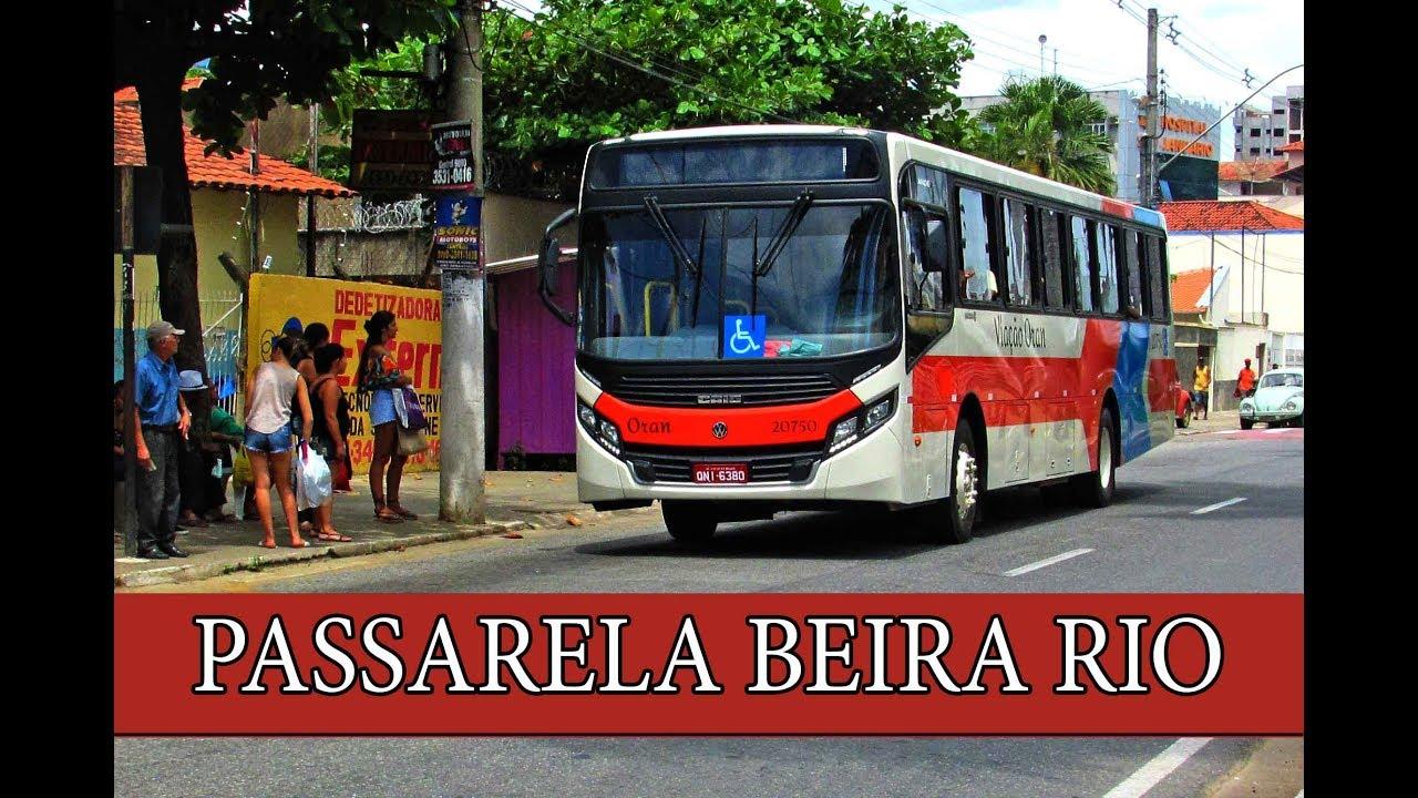 baaacd6d2d Movimentação de ônibus - Ubá MG -  22 Passarela Beira Rio - YouTube