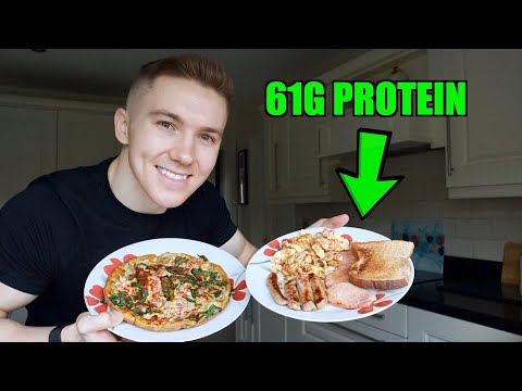 High Protein Breakfast for Muscle Building | Low Calorie...