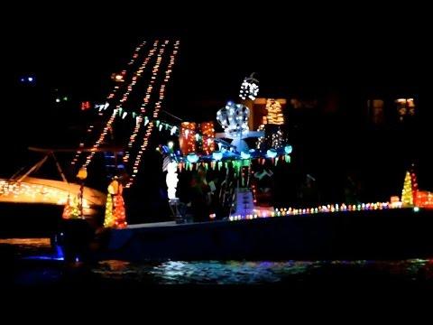 2016 Christmas Boat Parade - Martin County, Stuart Florida [HD]