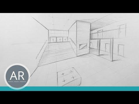 Zweipunkt perspektive buzzpls com - Architekturzeichnung lernen ...