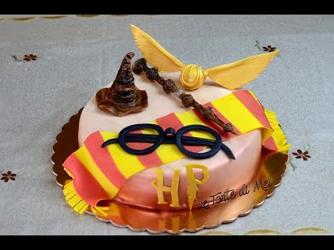 HOW TO MAKE A HARRY POTTER CAKE