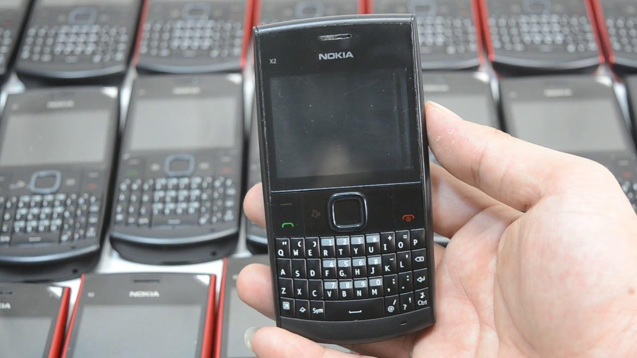 Điện thoại Nokia X2-01 Bàn Phím Qwerty Rẻ Nhất Nokia chỉ 399k