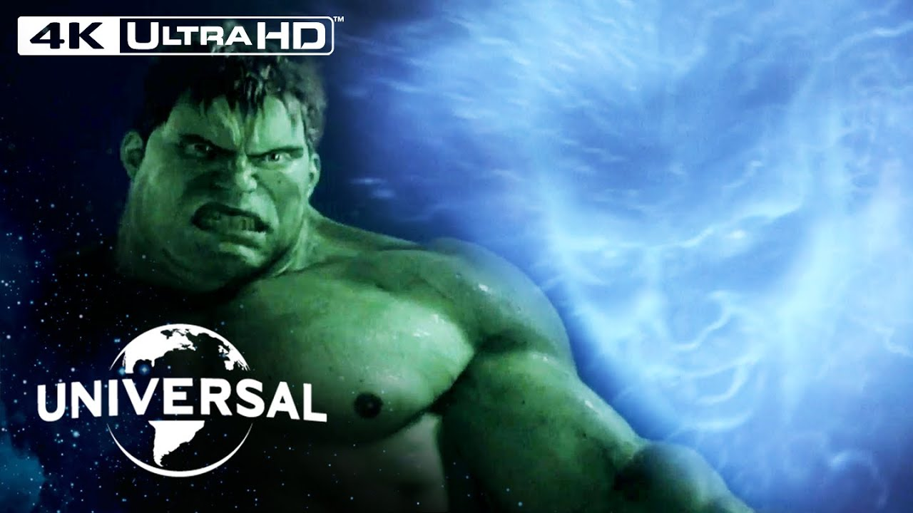 Hulk | Absorbing Man Fight Scene in 4K HDR