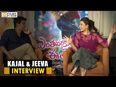 Kajal Aggarwal & Jeeva Interview About Entha Varaku Ee Prema Movie - Filmyfocus.com