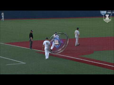 Illinois Baseball Highlights vs. Iowa 5/18/17