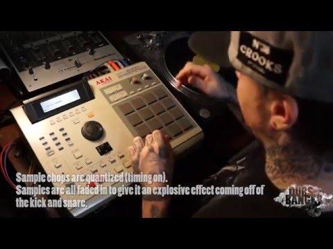 Classic Hip Hop Dark Soul Vocal Sample MPC Beat Making Video Boom Bap