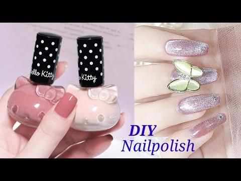 How To Make Nail Polish At Home   DIY Homemade Nail Polish / nail polish tutorial /  #shorts