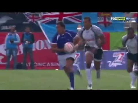 Paul Perez try against Fiji