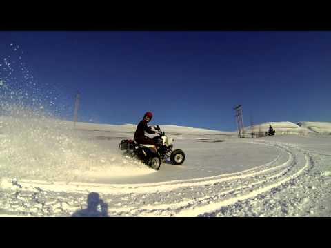 Paddle Tires Vs Snow -Outlaw 525-
