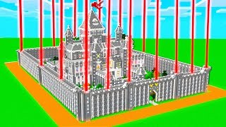 PROTECTING THE SAFEST MINECRAFT CASTLE!