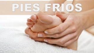 Clima en manos y adormecer frío pies