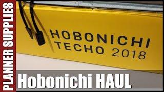 Haul prosto z Japonii - Hobinichi Techo 2018
