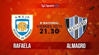Atl. Rafaela vs Almagro full match