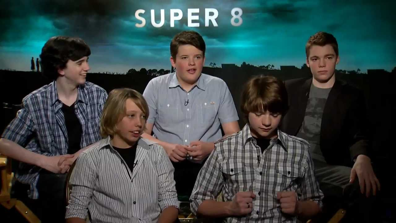 Super 8 - The Kids from Super 8