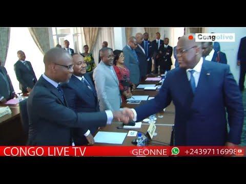 🔴 RDC : FATSHI PRÉSIDE LE PREMIER CONSEILLE DES MINISTRE TENU A LA CITE DE L'OUA