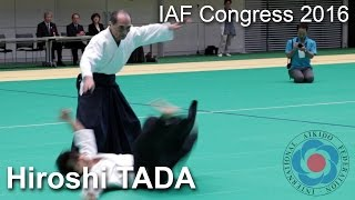 Demonstration by Hiroshi Tada - 12th IAF Congress in Takasaki