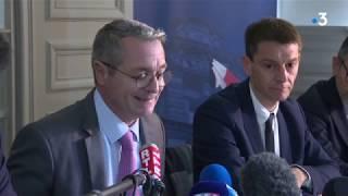 Coronavirus : La Conférence De Presse Du Préfet Du Morbihan Et Directeur De L'ars