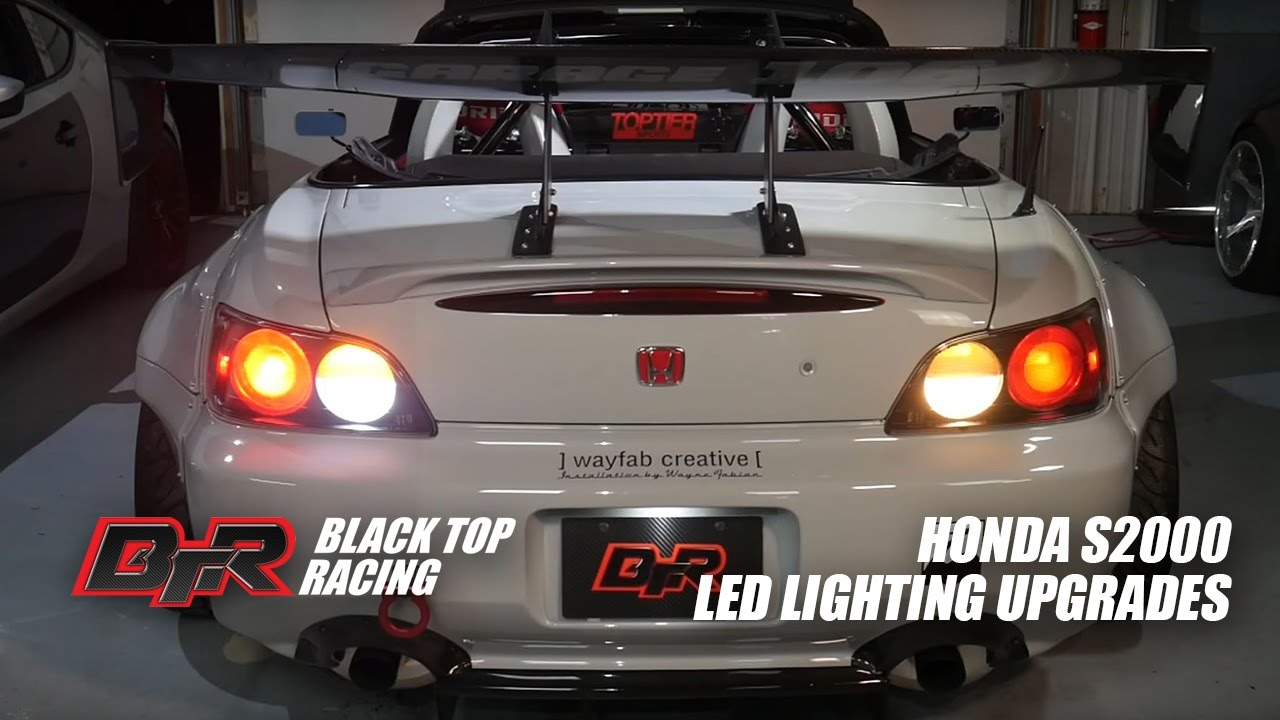 S2000 Led Upgrades Rear Turn Signals Tail Lights