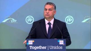 EPP Madrid Congress - Viktor Orban, Prime Minister of Hungary