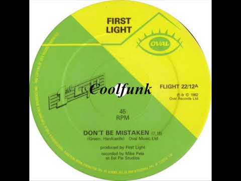 """First Light - Don't Be Mistaken (12"""" Electro Funk Boogie 1982)"""