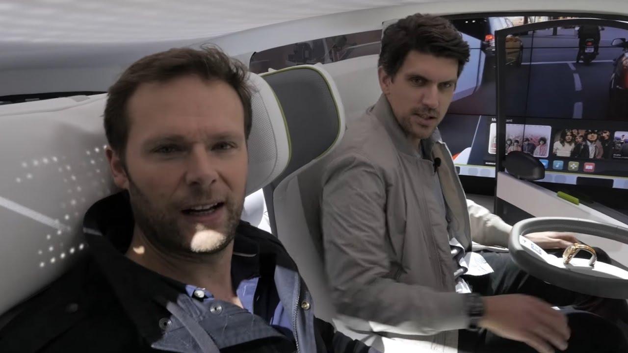 CES 2017 Rinspeed Oasis - Zwei Mann, ein Auto | auto motor und sport