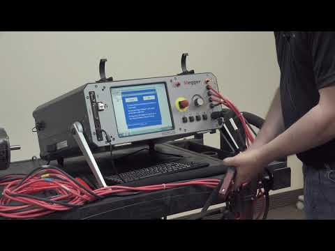 Operating The Baker AWA-IV Static Motor Analyzer