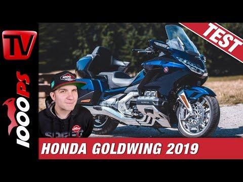 Honda Gold Wing Tour DCT 2019 Test - ein Traum auf 2 Rädern?