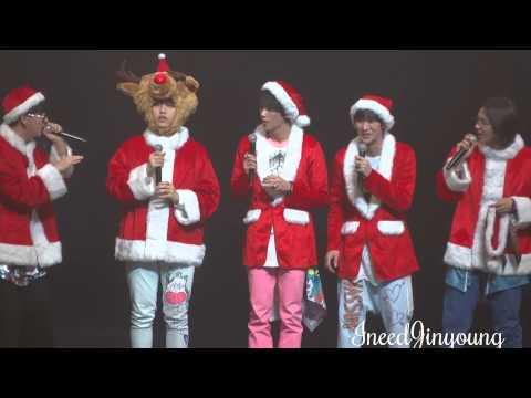 131223 B1A4 Yokohama 『Christmas Song Medley』