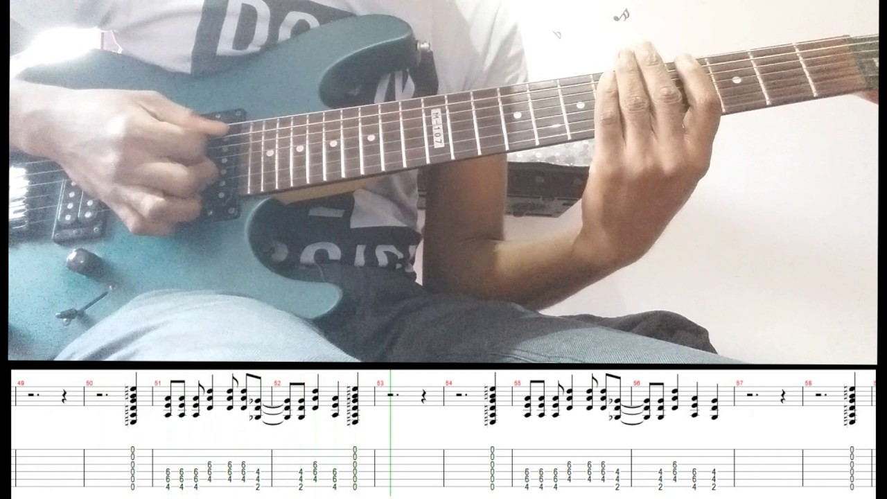 green day american idiot guitar cover with tabs youtube. Black Bedroom Furniture Sets. Home Design Ideas