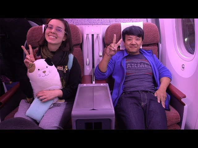 LATAM Airlines BUSINESS CLASS New York to Lima Peru