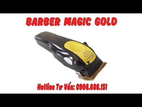 Nhá Hàng Tông Đơ Barber Magic Gold Lưỡi Kép Giá Rẻ