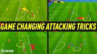 FIFA 20 GAME CHANGING ATTACKING TRICKS to CREATE SCORING CHANCES! FIFA 20 EASY ATTACKING TUTORIAL