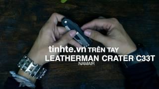 tren tay dung cu leatherman crater c33t - luoi bang thep 420hc