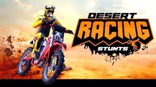 Desert Bike Stunts - Gameplay Android game - bike stunt games