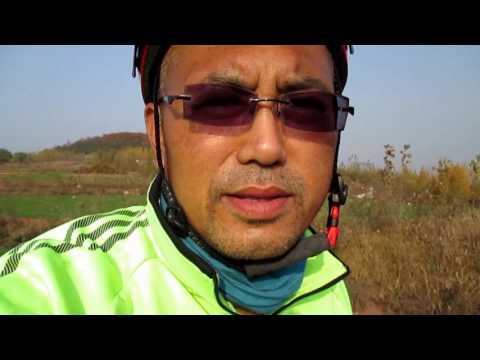 iding 1200 km, which lasted 9 days三千里路云和月,从任丘骑行到上海