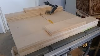 How To Make A Table Saw Sled, Table Saw Jig, Miter Saw Sled