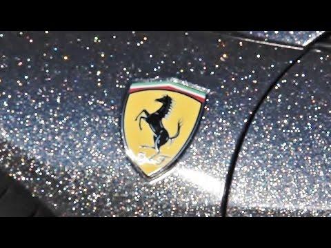 Glittering Ferrari 458 Italia : The Diamond wrap
