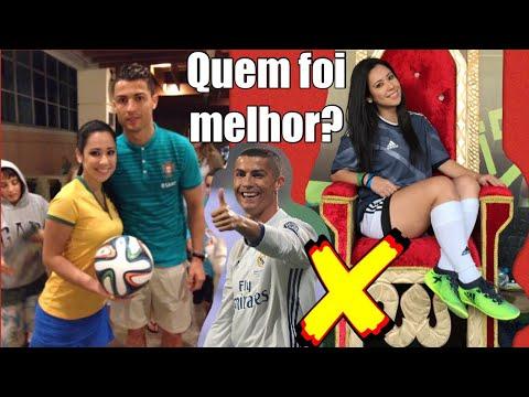 Desafio do Cristiano Ronaldo! CR7 Challenge!