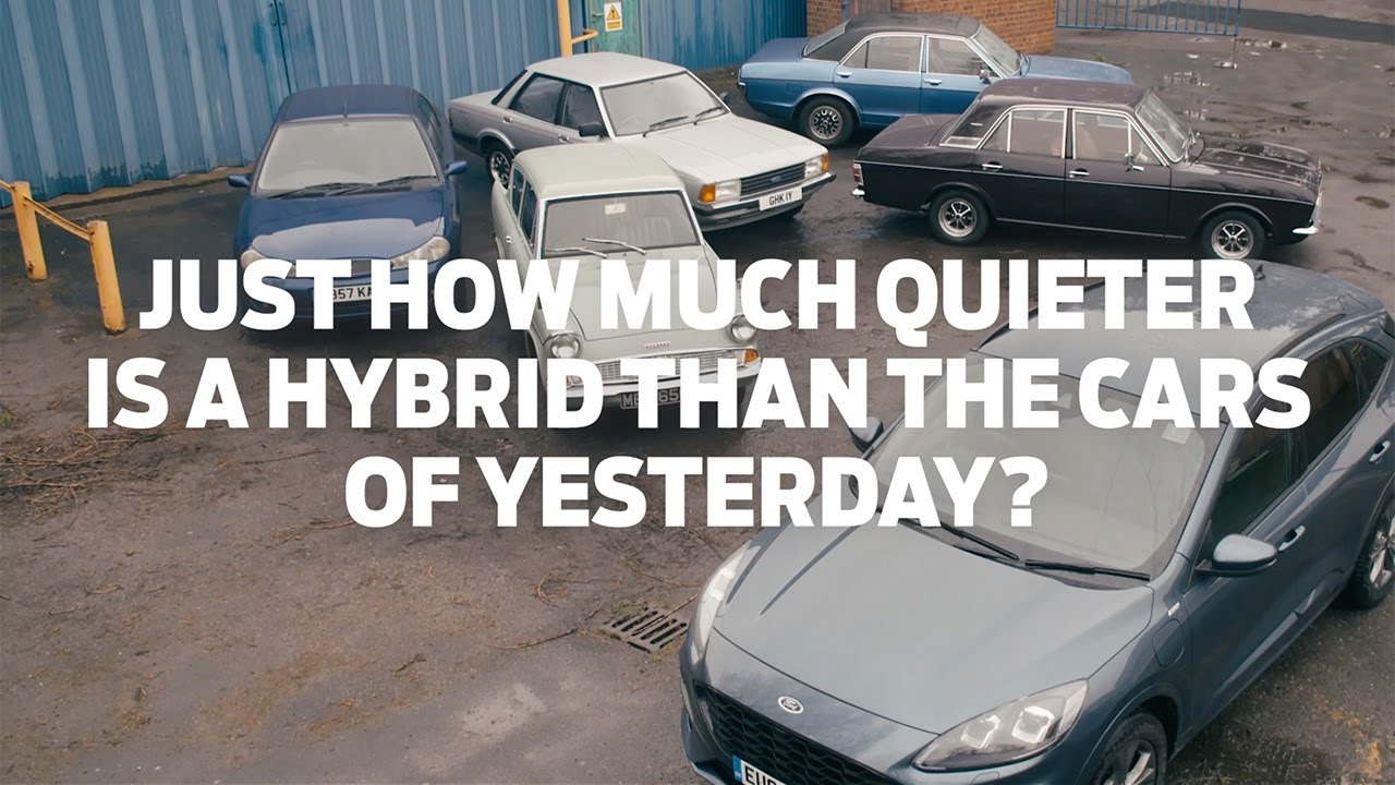 Just How Much Quieter is a Hybrid Than the Cars of Yesterday? - YouTube