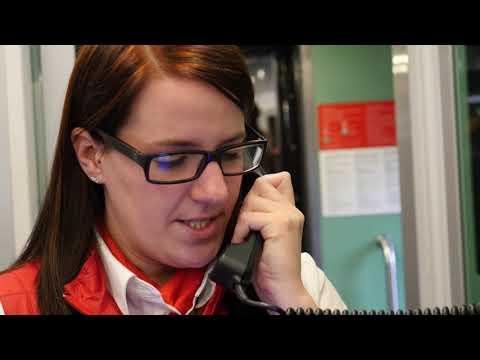 """""""One day in a job"""" mit Zugbegleiterin Melissa Bunzel"""