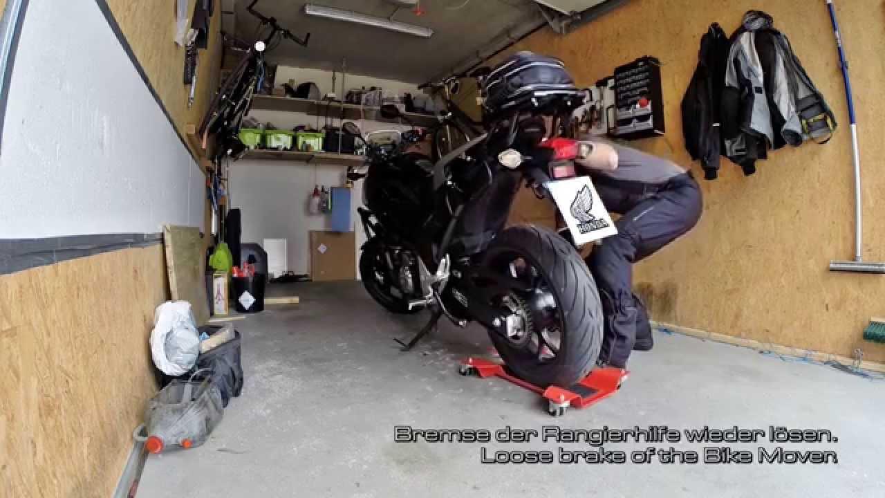 how to do rothewald rangierhilfe rothewald bike. Black Bedroom Furniture Sets. Home Design Ideas
