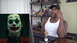 FIRST LOOK @ Joaquin Phoenix In CLOWN MAKEUP!!! - REACTION!!!